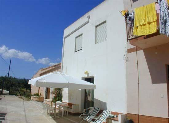 Outside view Location Apartment 64606 Scopello