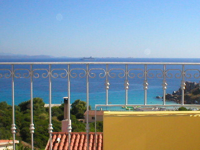 View from the balcony Location Apartment 74770 Santa Teresa di Gallura