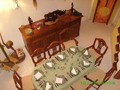 Dining room Location Villa 10817 Saly