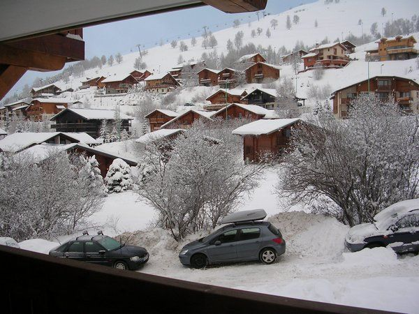 View from the balcony Location Apartment 1171 Les 2 Alpes