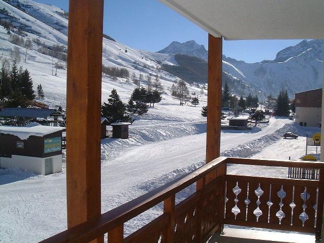 Balcony 2 Location Apartment 1219 Les 2 Alpes
