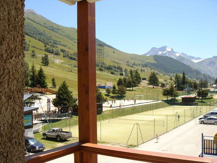 View from the balcony Location Apartment 1219 Les 2 Alpes