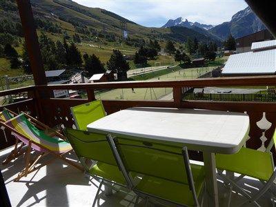 Balcony 1 Location Apartment 1219 Les 2 Alpes