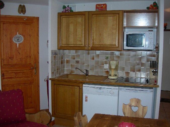 Kitchenette Location Apartment 1233 Les 2 Alpes