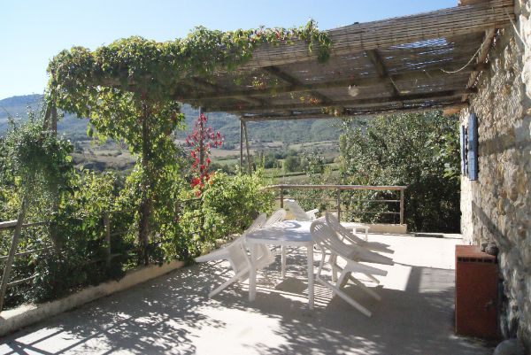 View from terrace Location Self-catering property 12573 Nyons