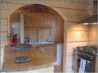 Open-plan kitchen Location Chalet 14909 La joue du Loup