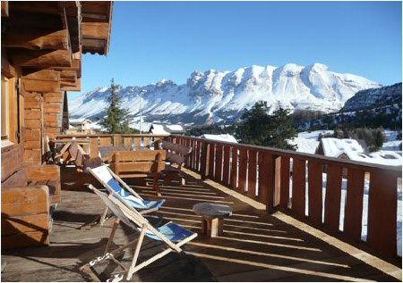 View from terrace Location Chalet 14909 La joue du Loup