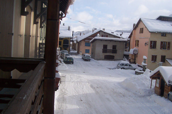 View from the balcony Location House 16964 Montgenevre
