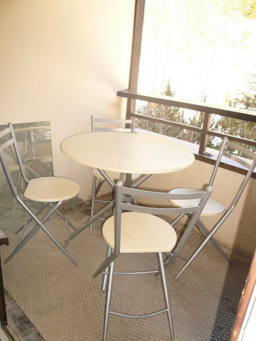 Balcony Location Apartment 1761 Les Menuires
