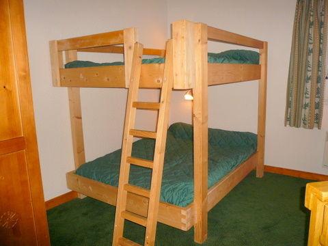 bedroom 2 Location Apartment 1761 Les Menuires