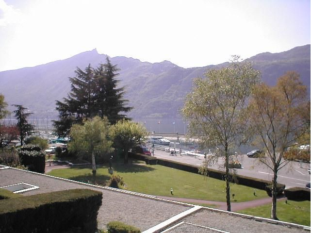 View from the balcony Location Studio apartment 20497 Aix Les Bains