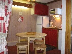 Kitchenette Location Studio apartment 2153 La Plagne