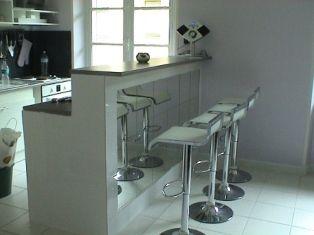 Open-plan kitchen Location Apartment 21640 Le Touquet