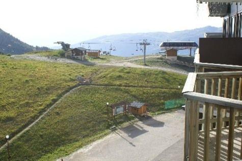 View from the balcony Location Studio apartment 2252 La Plagne
