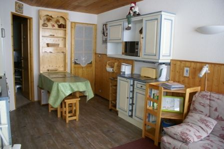 Living room Location Studio apartment 2252 La Plagne