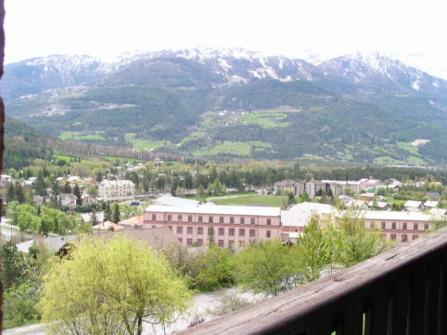 View from the balcony Location Apartment 2312 Barcelonnette