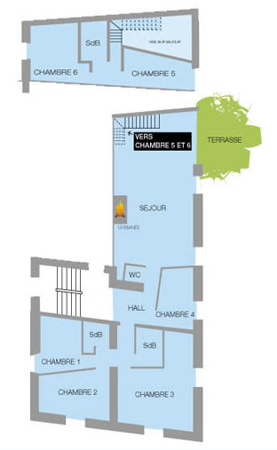 Property map Location Apartment 26150 Valloire