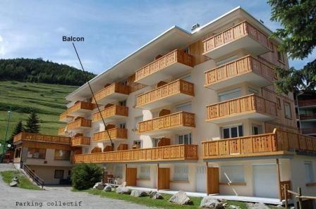 Outside view Location Apartment 26687 Les 2 Alpes