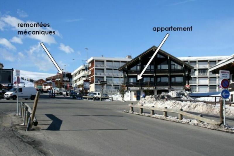 Outside view Location Apartment 27 Alpe d'Huez