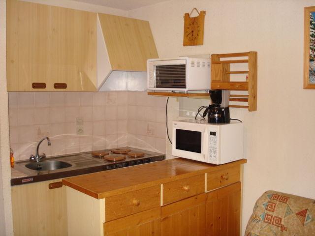 Open-plan kitchen Location Apartment 27888 Thollon Les Mémises