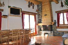 Living room Location Apartment 28873 Chamrousse