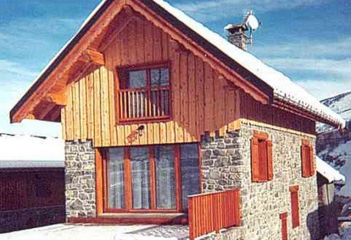 Outside view Location Chalet 3373 Valloire