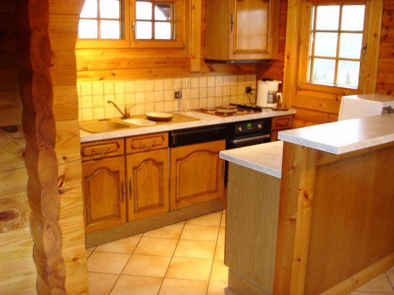 Open-plan kitchen Location Chalet 4579 Gérardmer