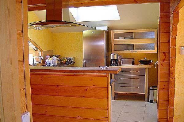 Open-plan kitchen Location Chalet 4643 Gérardmer