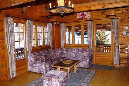 Sitting room Location Chalet 4726 Nendaz