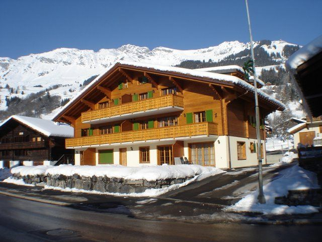 Outside view Location Apartment 4732 Les Diablerets