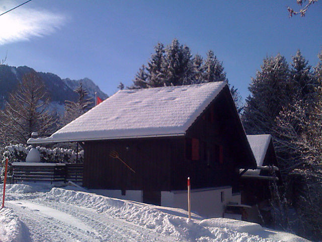 Outside view Location Chalet 4805 Charmey