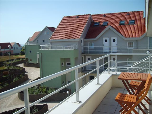 View from the balcony Location Apartment 52935 Wimereux
