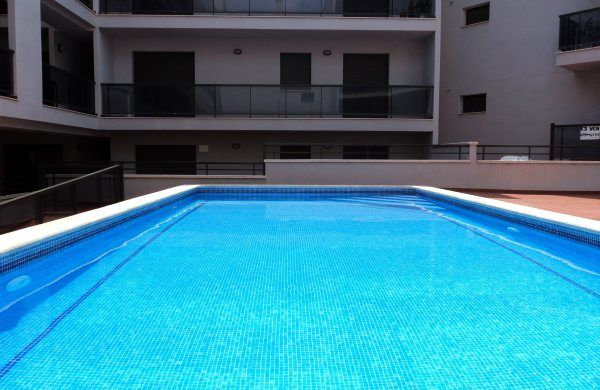 Swimming pool Location Apartment 55620 L'ampolla