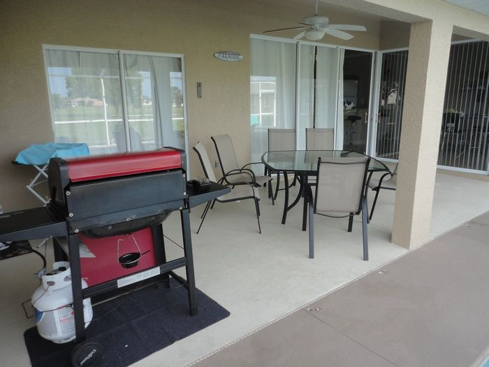 View from terrace Location Villa 57904 Cape Coral