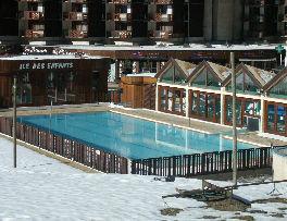 Swimming pool Location Studio apartment 57992 La Plagne