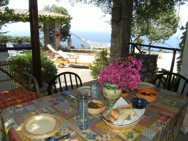 Veranda Location Villa 58328 Scopello