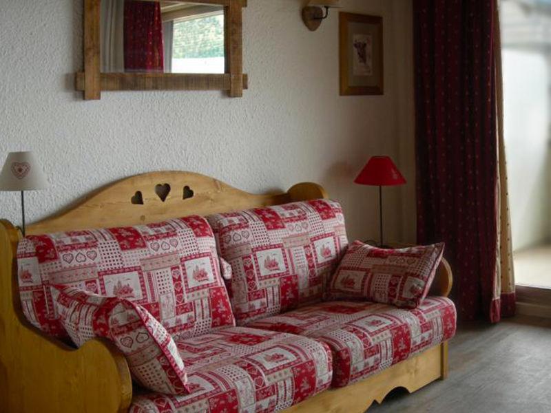 Sitting room Location Studio apartment 58480 Alpe d'Huez