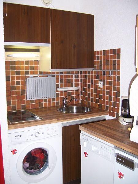 Kitchenette Location Studio apartment 60427 Les Carroz d'Araches