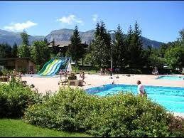 Swimming pool Location Studio apartment 60427 Les Carroz d'Araches