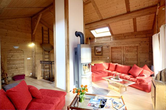 Living room Location Chalet 60510 La Clusaz