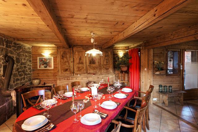 Dining room Location Chalet 60510 La Clusaz