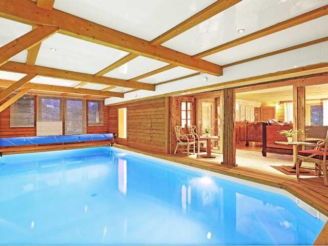 Swimming pool Location Chalet 60510 La Clusaz