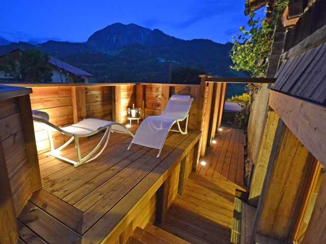 Terrace Location Chalet 60510 La Clusaz