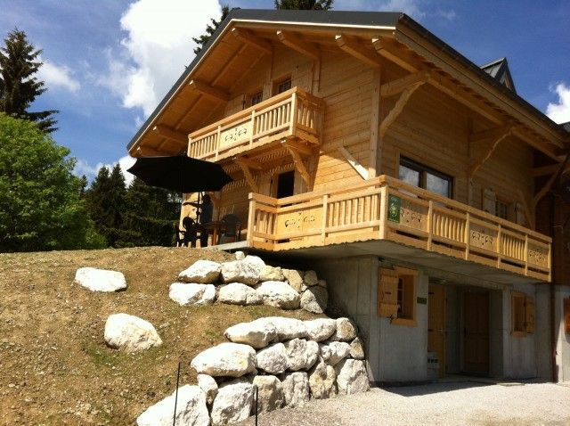 Outside view Location Self-catering property 61499 Praz de Lys Sommand