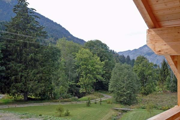 View from the balcony Location Chalet 61959 La Chapelle d'Abondance