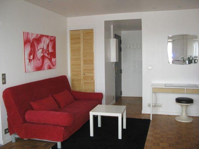 Living room Location Studio apartment 63317 PARIS