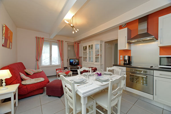 Dining room Location Apartment 7766 Le Touquet