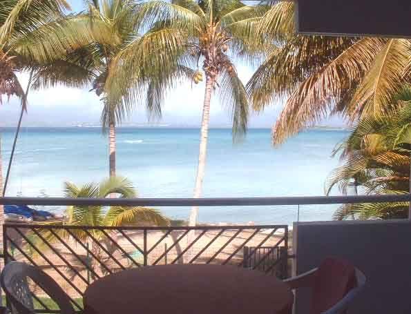 Terrace Location Studio apartment 8007 Gosier (Guadeloupe)
