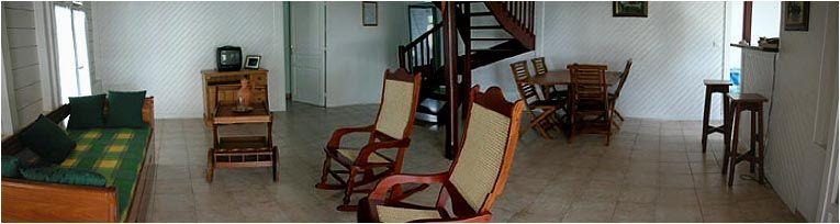 Sitting room Location Villa 8123 Sainte Anne (Martinique)