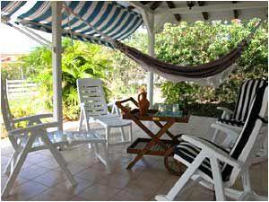 Terrace Location Villa 8123 Sainte Anne (Martinique)